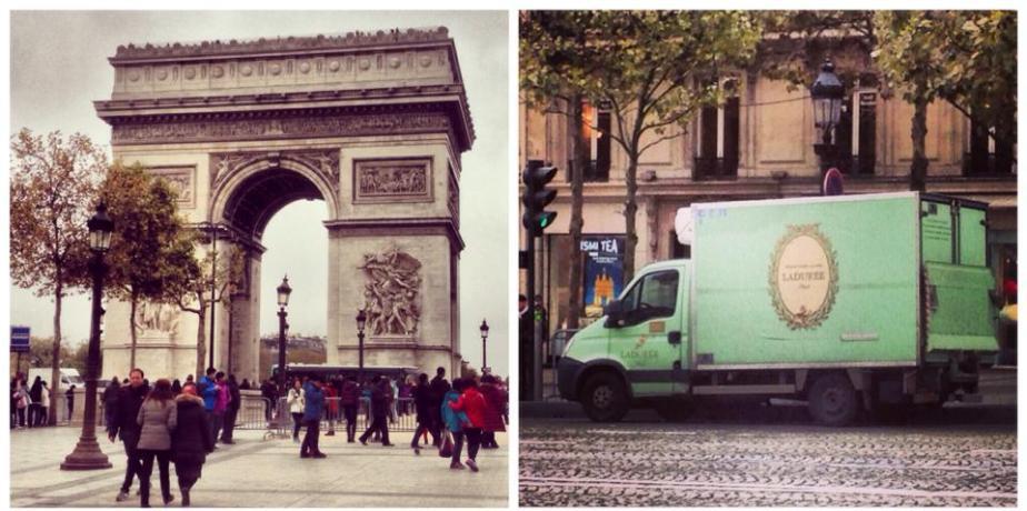 """""""Aux Champs-Élysées…"""""""