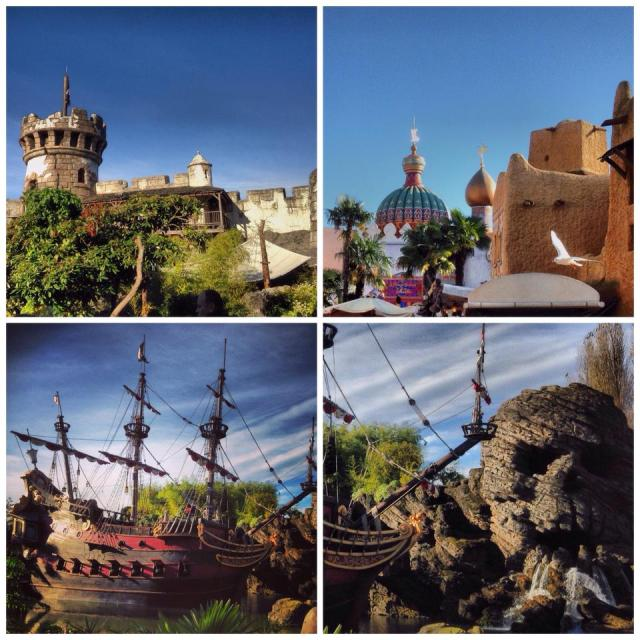 adventureland pirate ship captain hook pirates of the caribbean