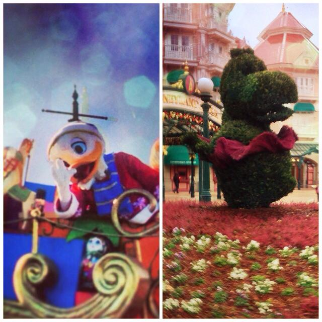 donald duck topiary fantasia hippo disneyland hotel