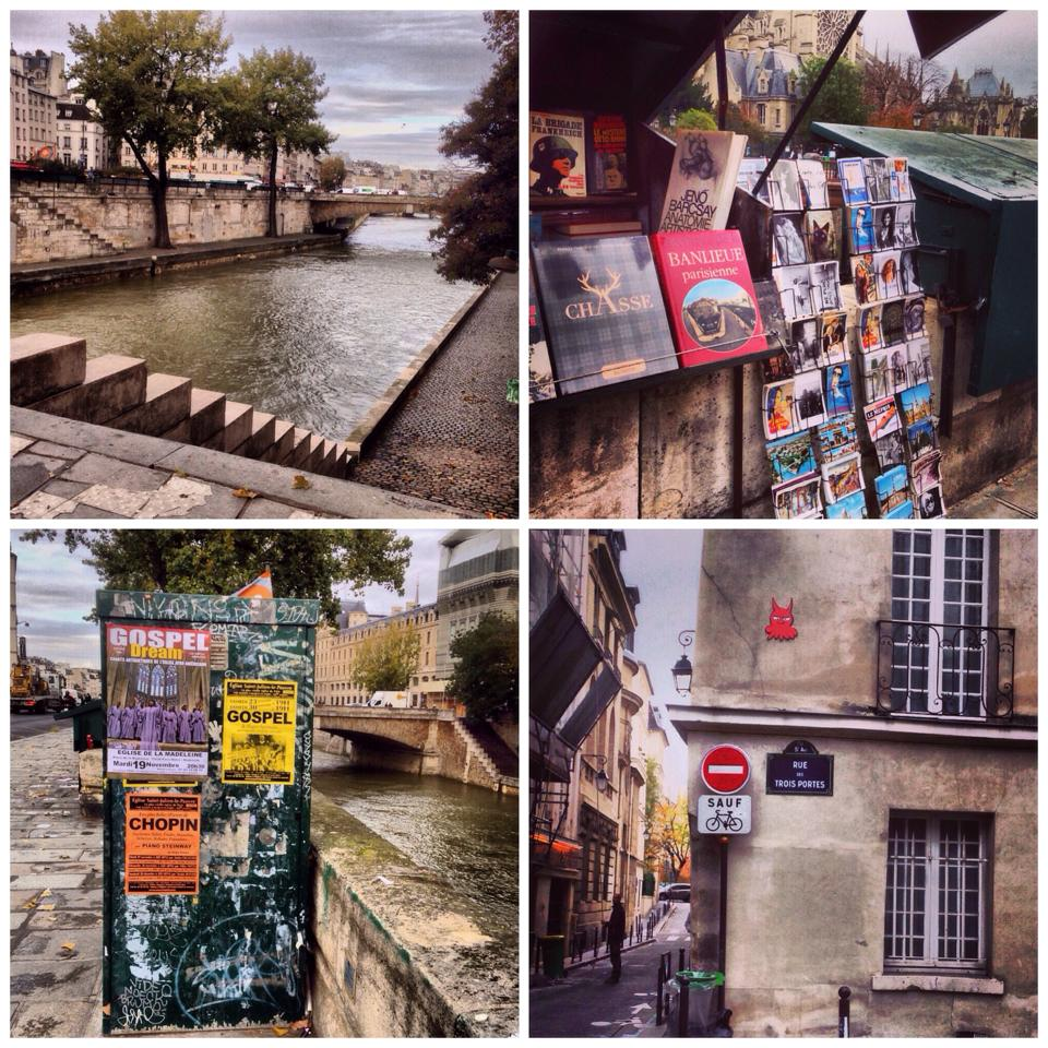 river left bank bouquinistes books book stall